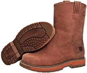 leather muck boots