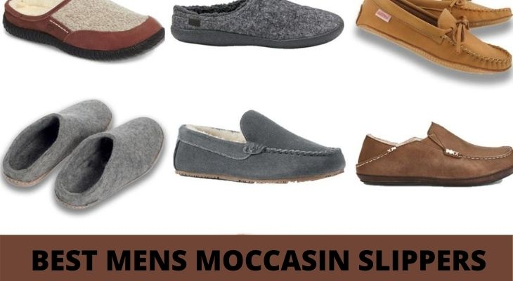 best mens moccasin slippers